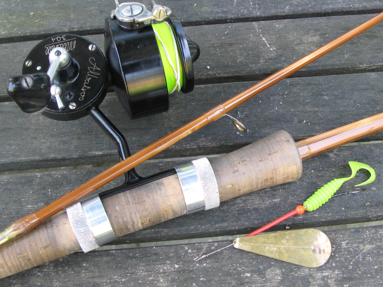 L h design reports for How to make a fishing rod