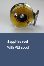 Sapphire reel with PEI spool